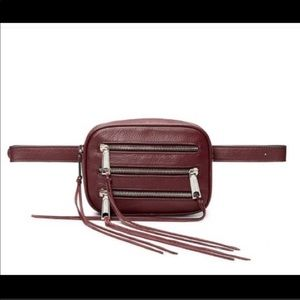 Rebecca Minkoff Three Zip belt bag NWT